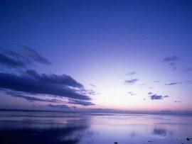 Papel de parede Mar Azul