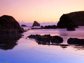 Papel de parede Mar e Pedras
