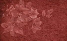 Papel de parede Marca D'Água de Flores