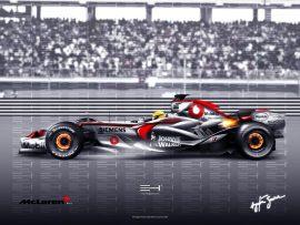 Papel de parede McLaren Mercedes