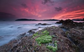 Papel de parede Costa do Mar Mediterrâneo