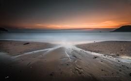 Papel de parede Praia no Mar Mediterrâneo