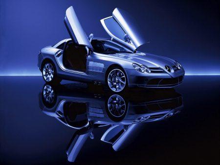 Papel de parede Mercedes SLR para download gratuito. Use no computador pc, mac, macbook, celular, smartphone, iPhone, onde quiser!