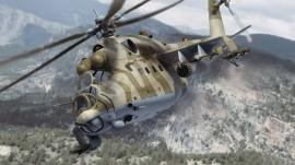 Papel de parede Mi-24  Camuflado