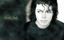 Papel de parede Michael em Preto e Branco