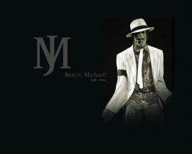 Papel de parede Michael Jackson, beat it!