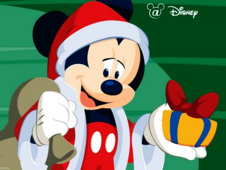 Papel de parede Mickey Noel para download gratuito. Use no computador pc, mac, macbook, celular, smartphone, iPhone, onde quiser!