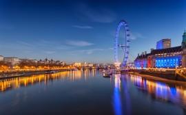Papel de parede Roda Gigante London Eye