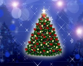 Papel de parede Minha Árvore de Natal