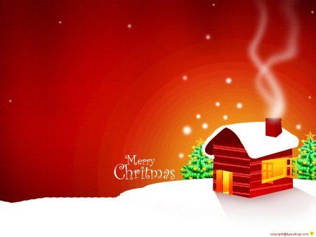Papel de parede Minha Casinha no Natal para download gratuito. Use no computador pc, mac, macbook, celular, smartphone, iPhone, onde quiser!
