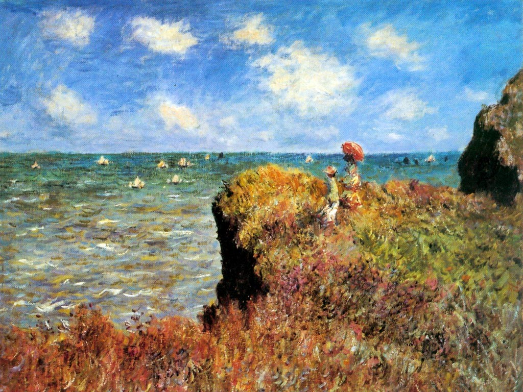 Papel de parede Monet – Bonito para download gratuito. Use no computador pc, mac, macbook, celular, smartphone, iPhone, onde quiser!