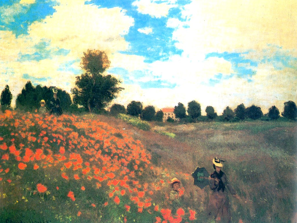 Papel de parede Monet – Quadros Famosos para download gratuito. Use no computador pc, mac, macbook, celular, smartphone, iPhone, onde quiser!