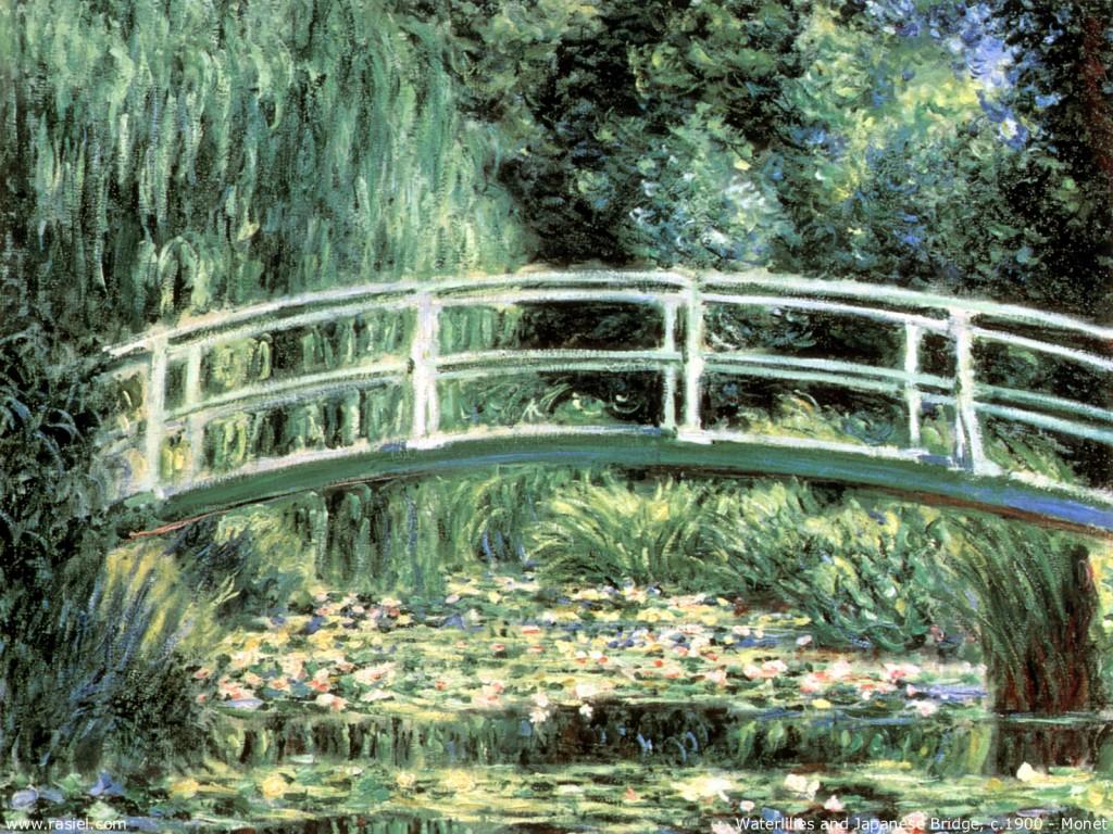 Papel de parede Monet – Ponte para download gratuito. Use no computador pc, mac, macbook, celular, smartphone, iPhone, onde quiser!
