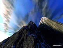 Papel de parede Montanha Negra