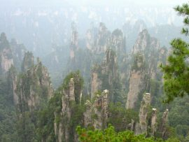 Papel de parede Montanhas na China [2]