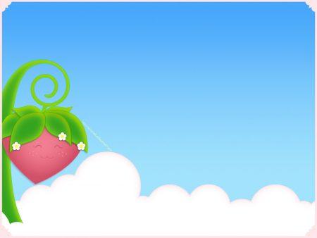 Papel de parede Morango Fofinho para download gratuito. Use no computador pc, mac, macbook, celular, smartphone, iPhone, onde quiser!