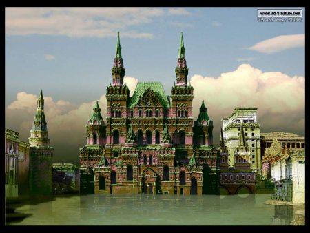 Papel de parede Moscou 3d para download gratuito. Use no computador pc, mac, macbook, celular, smartphone, iPhone, onde quiser!