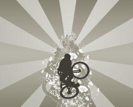 Papel de parede Mountain Bike
