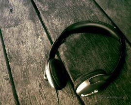 Papel de parede Música – Fone de Ouvido