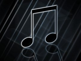 Papel de parede Música – Nota