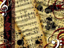 Papel de parede Música – Partituras