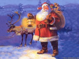 Papel de parede Na Noite de Natal