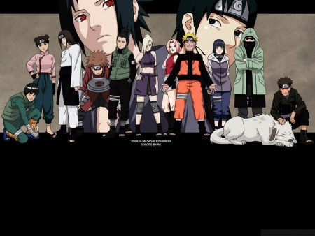Papel de parede Naruto – Elenco para download gratuito. Use no computador pc, mac, macbook, celular, smartphone, iPhone, onde quiser!