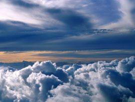 Papel de parede Nas Nuvens – Sobrevoando