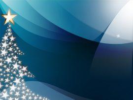 Papel de parede Natal – Árvore Azul
