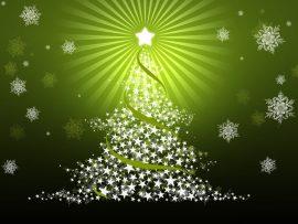 Papel de parede Natal – Árvore Verde