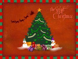 Papel de parede Natal – Cartão