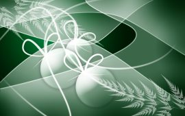 Papel de parede Natal – Decoração Verde