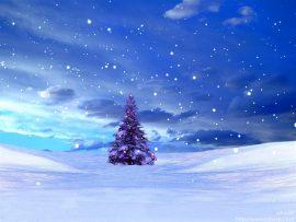 Papel de parede Natal – Delicada Árvore