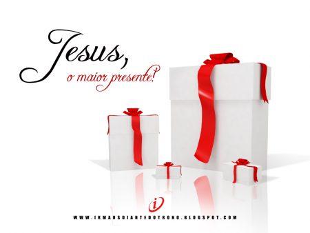 Papel de parede Natal – Jesus é o Melhor Presente para download gratuito. Use no computador pc, mac, macbook, celular, smartphone, iPhone, onde quiser!