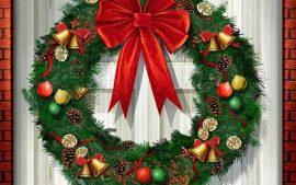 Papel de parede Natal – Na Porta