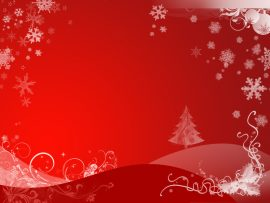 Papel de parede Natal – Vermelho