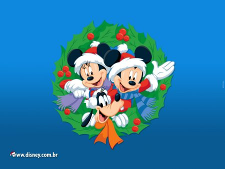 Papel de parede Natal Disney para download gratuito. Use no computador pc, mac, macbook, celular, smartphone, iPhone, onde quiser!