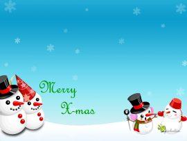 Papel de parede Natal e Neve – Comemorando