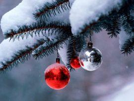 Papel de parede Natal na Neve