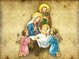 Papel de parede Natal, Nascimento de Jesus