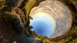 Papel de parede Natureza em 360º