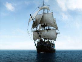 Papel de parede Navegando – Mar Calmo
