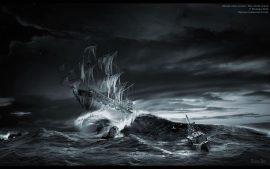 Papel de parede Navegando – Mar em fúria