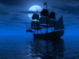 Papel de parede Navegando – pela Noite