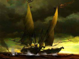 Papel de parede Navegando – Tormenta