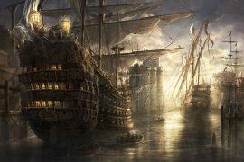 Papel de parede Navio Pirata