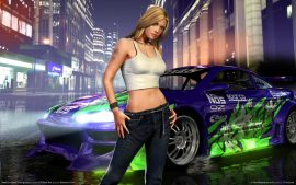 Papel de parede Need For Speed – Girl