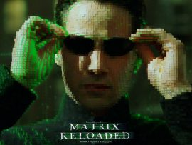 Papel de parede Neo Matrix