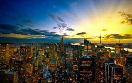 Papel de parede Vista Aérea de Nova York para download gratuito. Use no computador pc, mac, macbook, celular, smartphone, iPhone, onde quiser!