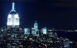 Papel de parede Vista Noturna de Nova York